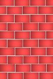 Abstrakter Ziegelstein-Hintergrund Lizenzfreies Stockbild