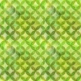 Abstraktes Überschneidungsnahtloses Muster der kreise Stockfotografie