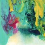 Abstraktes Acryl, Aquarell malte Hintergrund Stockbild