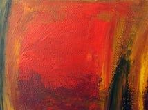 Abstraktes Acryl gemalter Hintergrund Stockfotos