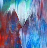 Abstraktes Acryl gemalter Hintergrund Lizenzfreie Stockfotografie