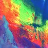 Abstraktes Acryl gemalter Hintergrund Lizenzfreie Stockbilder
