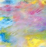 Abstraktes Acryl gemalter Hintergrund Lizenzfreie Stockfotos