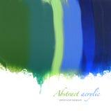 Abstraktes Acryl gemalter Hintergrund Stockfoto