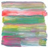 Abstraktes Acryl gemalter Hintergrund Lizenzfreies Stockbild