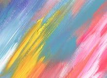 Abstraktes Acryl, gemalter Hintergrund des Aquarells Fleck Lizenzfreie Stockfotografie