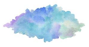 Abstraktes Acryl und Aquarell bürsten Anschläge gemalten Hintergrund Stockfotografie
