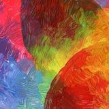 Abstraktes Acryl und Aquarell gemalter Hintergrund Lizenzfreies Stockfoto