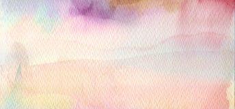 Abstraktes Acryl und Aquarell gemalter Hintergrund Lizenzfreie Stockfotos