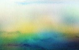 Abstraktes Acryl und Aquarell gemalter Hintergrund Lizenzfreie Stockfotografie