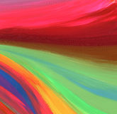 Abstraktes Acryl und Aquarell gemalter Hintergrund Stockfotos