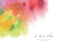 Abstraktes Acryl und Aquarell gemalter Hintergrund Beschaffenheit pape Stockfotos