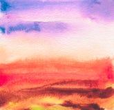 Abstraktes Acryl und Aquarell gemalter Rahmen Beschaffenheitspapierbac Lizenzfreie Stockfotografie