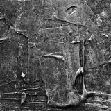 Abstraktes altes Grau malte Acryl, oder Ölfarben masern Hintergrund Stockfotografie