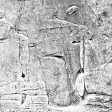 Abstraktes altes Grau malte Acryl, oder Ölfarben masern Hintergrund Stockbilder