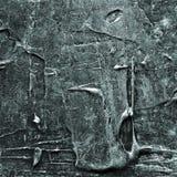 Abstraktes altes graues und silbernes gemaltes Acryl oder Ölfarben masern Hintergrund Lizenzfreie Stockfotografie