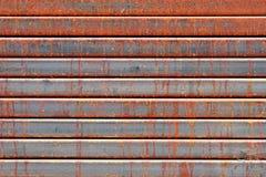 Abstraktes altes rostiges Metall stockfoto