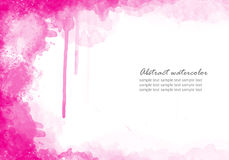 Abstraktes Aquarell Stockfoto