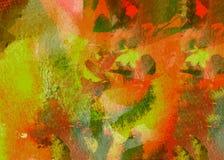 Abstraktes Aquarell lizenzfreie abbildung