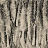 Abstraktes Aquarell auf Papierbeschaffenheit als Hintergrund In der Sepiatonne Stockbild