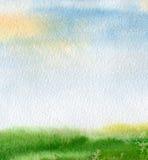 Abstraktes Aquarell gemalter Hintergrund Lizenzfreies Stockfoto
