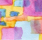 Abstraktes Aquarell gemalter Hintergrund Lizenzfreie Stockbilder