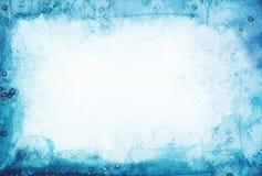 Abstraktes Aquarell gemalter Hintergrund Stockfotografie