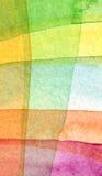 Abstraktes Aquarell malte Hintergrund Stockbild