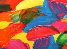 Abstraktes Aquarell malte Hintergrund Lizenzfreies Stockbild