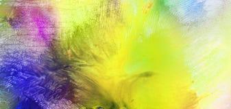 Abstraktes Aquarell malte Hintergrund Lizenzfreies Stockfoto