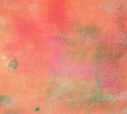 Abstraktes Aquarell malte Hintergrund Lizenzfreie Stockfotografie
