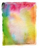 Abstraktes Aquarell und Acryl gemalter Hintergrund Stockfoto
