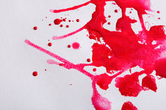 Abstraktes Aquarellfarbenspritzen auf Papierbeschaffenheit stockfoto