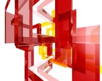 Abstraktes Archi Structure004 Stockfotografie