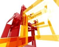 Abstraktes Archi Structure006 Stockfoto