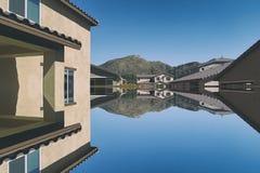 Abstraktes Architektur Stockfoto