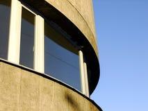 Abstraktes Architektur-Detail des Altbaus Stockbilder