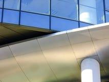 Abstraktes Architektur-Detail des modernen Gebäudes Stockfotos