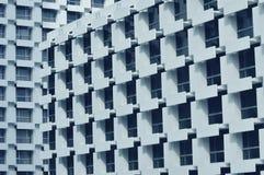 Abstraktes Architekturfragment und -fenster Lizenzfreie Stockbilder