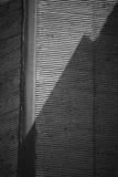 Abstraktes asiatisches Haus-Schwarzweiss-Dach Lizenzfreies Stockbild