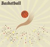 Abstraktes Basketballlogo Lizenzfreies Stockbild