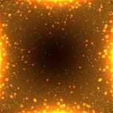 Abstraktes Beleuchtungsaufflackern Stockbild