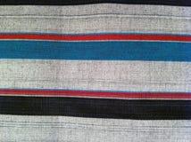 abstraktes Beschaffenheitsplaid-Baumwollgewebe des bunten Hintergrundes Lizenzfreie Stockfotos