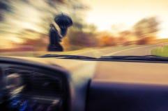 Abstraktes Bild der Geschwindigkeit mit Bewegung Lizenzfreies Stockfoto