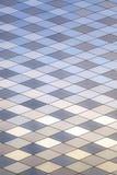 Abstraktes Bild der modernen Stahl-verzierten Wand Lizenzfreie Stockbilder