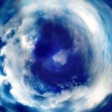Abstraktes Bild der Wolkennahaufnahme Stockfoto