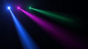 Abstraktes Bild des Beleuchtungsaufflackerns Lizenzfreie Stockfotos