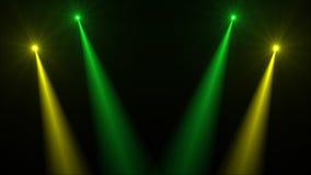 Abstraktes Bild des Beleuchtungsaufflackerns Stockfotos