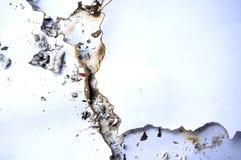 Abstraktes Bild des gebrannten Papiers Stockfotografie