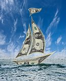 Abstraktes Bild des Popularitätsdollars Lizenzfreie Stockbilder